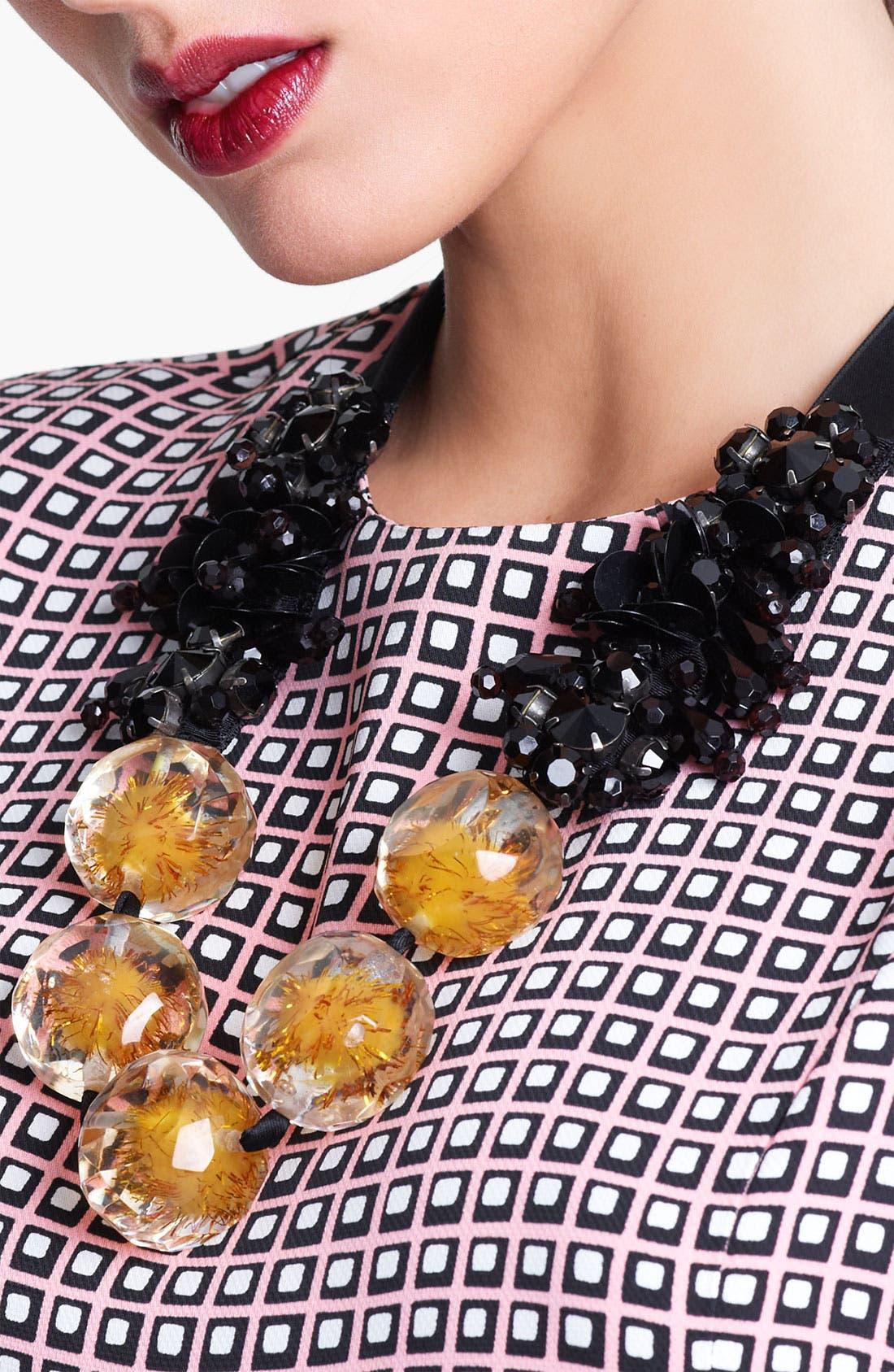 Alternate Image 2  - Marni Beaded Ribbon Necklace