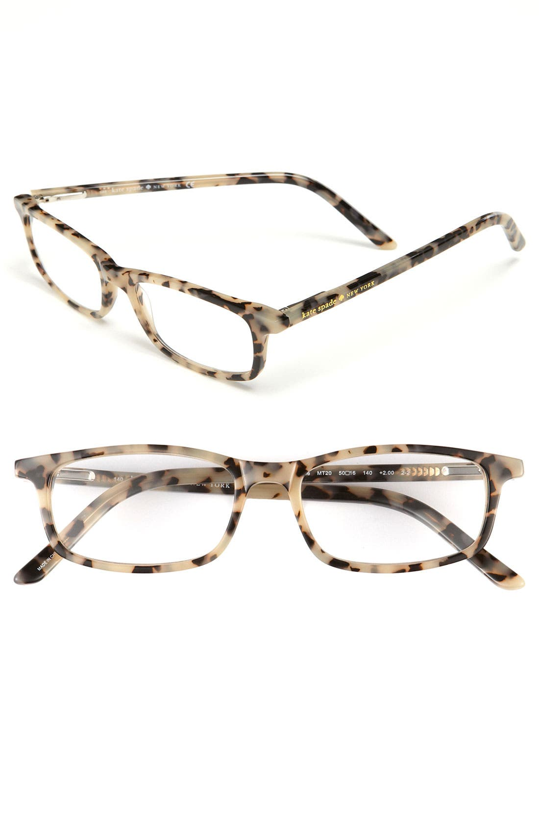 kate spade new york jodie 50mm reading glasses (2 for $88)