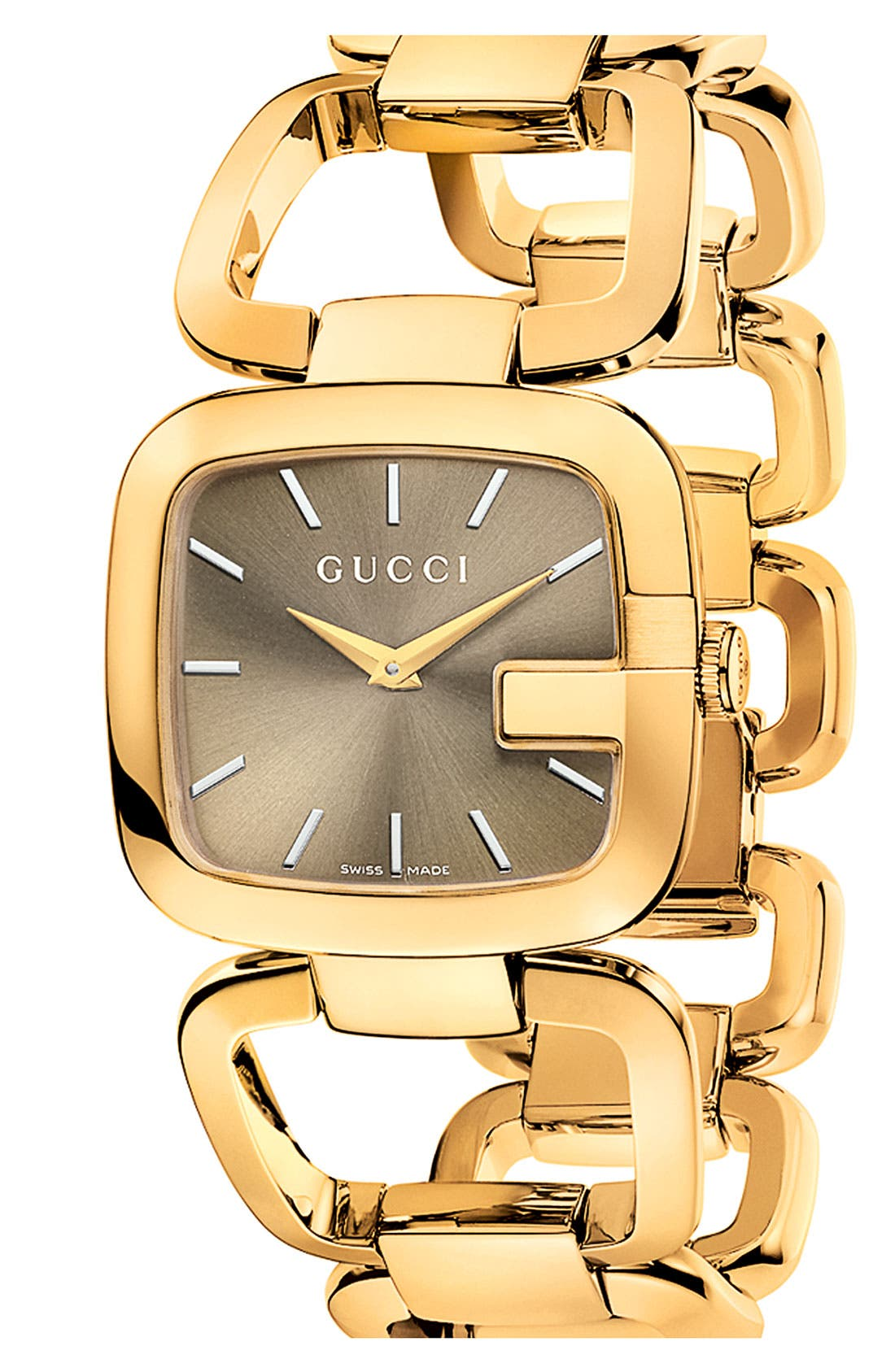 Alternate Image 1 Selected - Gucci 'G-Gucci' Bracelet Watch, 32mm