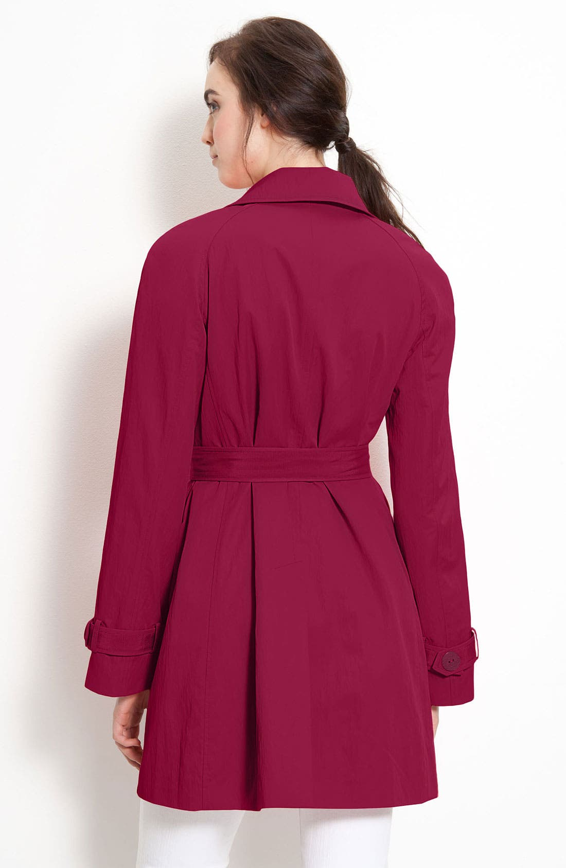 Alternate Image 2  - Elie Tahari Double Breasted Trench Coat