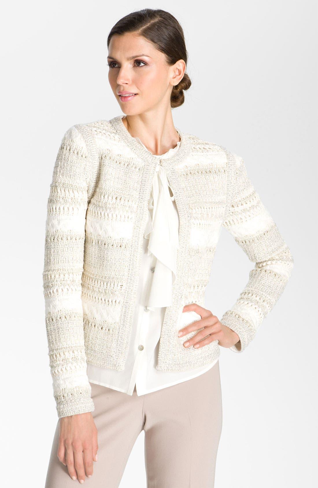 Alternate Image 1 Selected - St. John Collection Knit Jacket