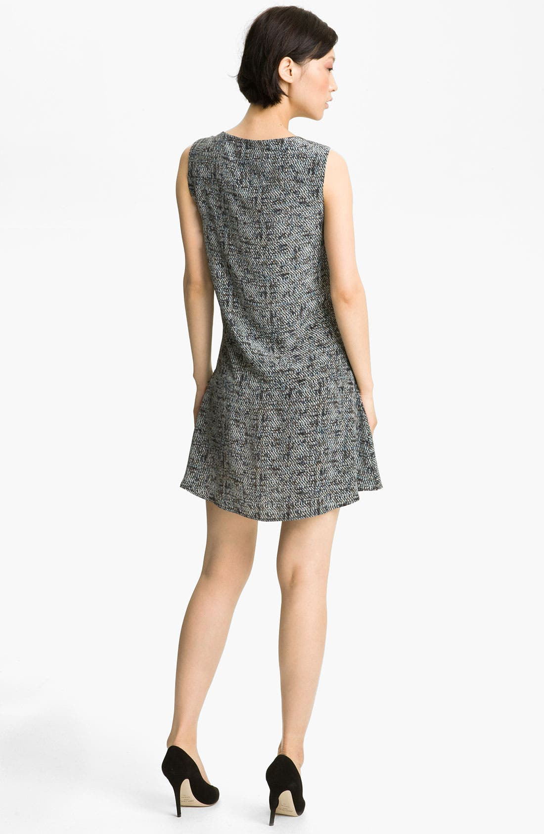 Alternate Image 2  - A.L.C. 'Donahue' Print Silk Dress