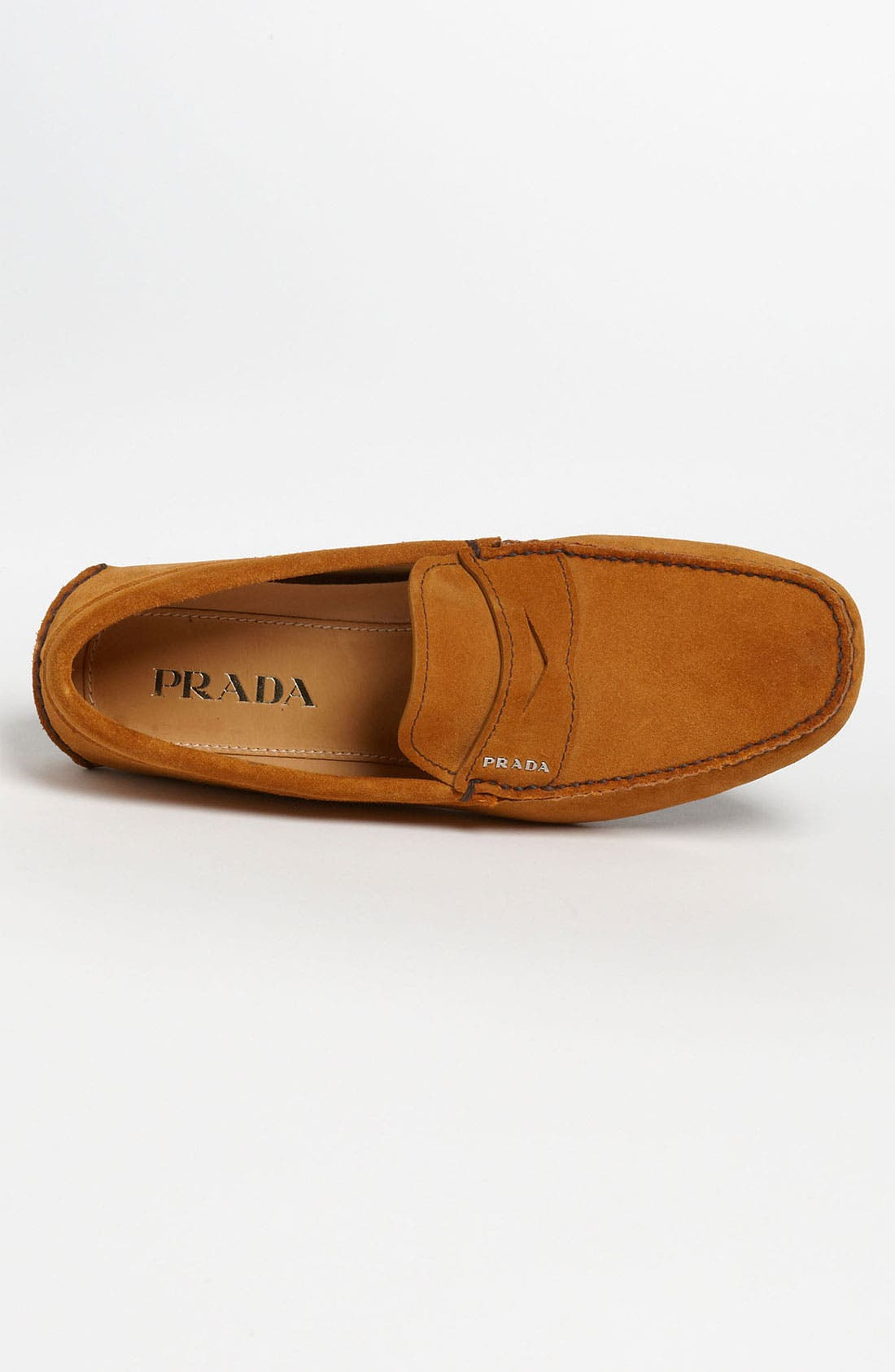 Alternate Image 3  - Prada Suede Penny Driving Shoe (Men)