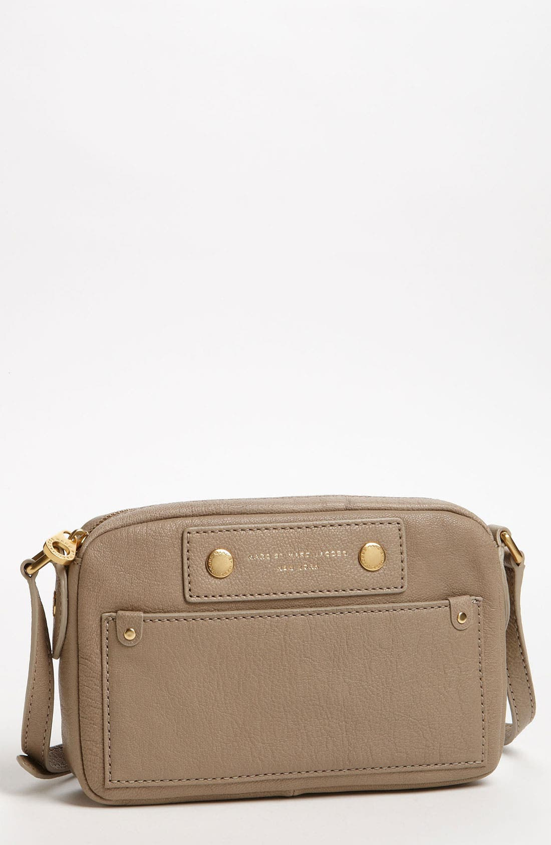 Main Image - MARC BY MARC JACOBS 'Preppy - Camera' Leather Crossbody Bag