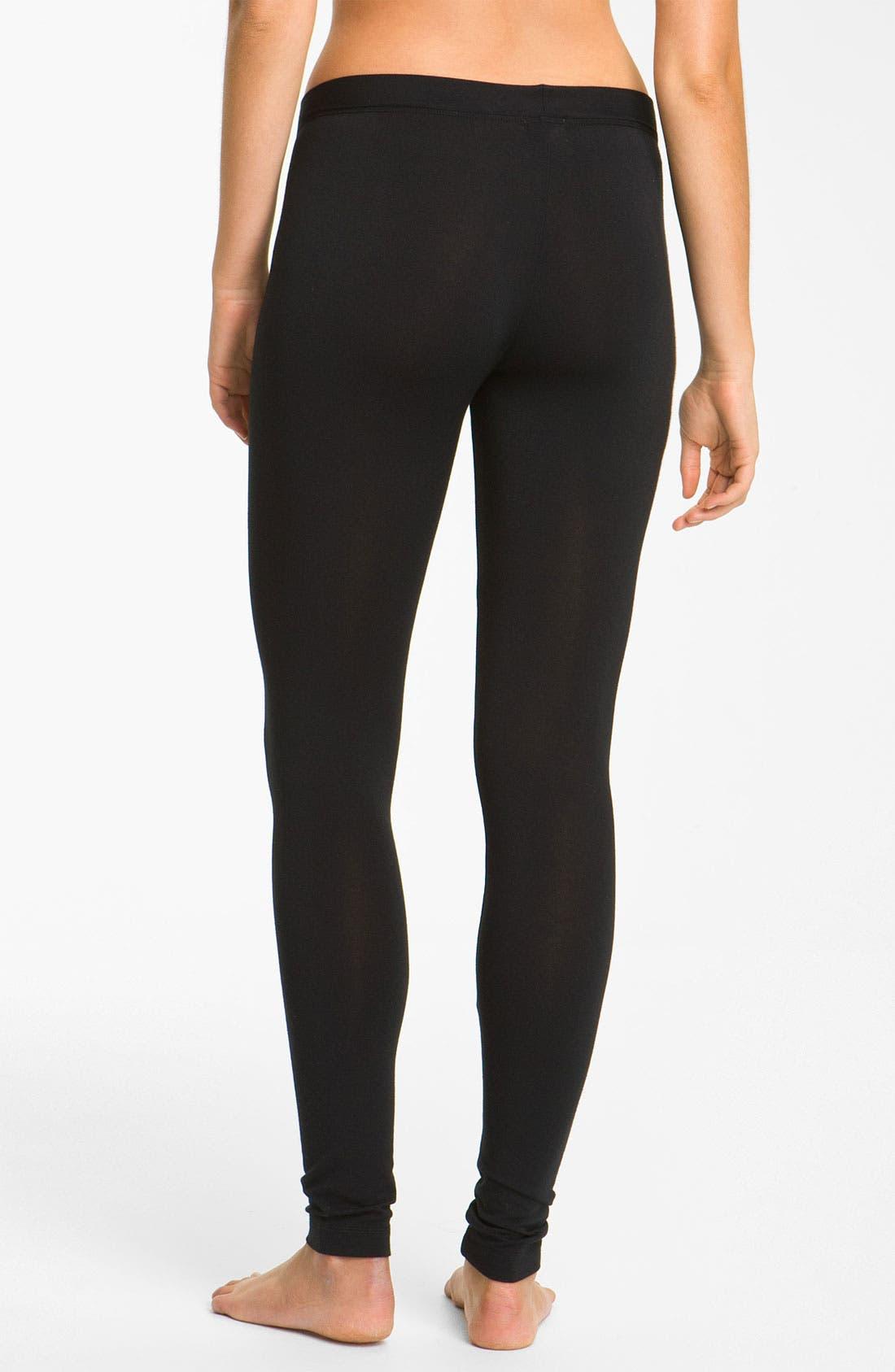 Alternate Image 2  - DKNY 'Effortlessly' Long Leggings