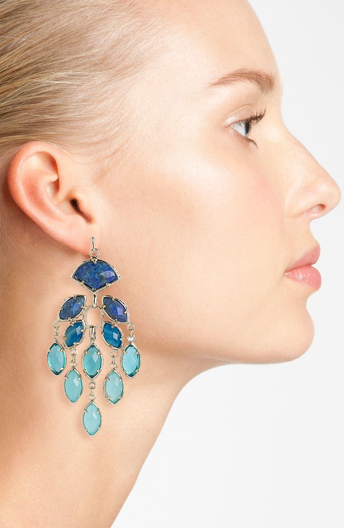 Alternate Image 2  - Kendra Scott 'Gwen' Large Chandelier Earrings