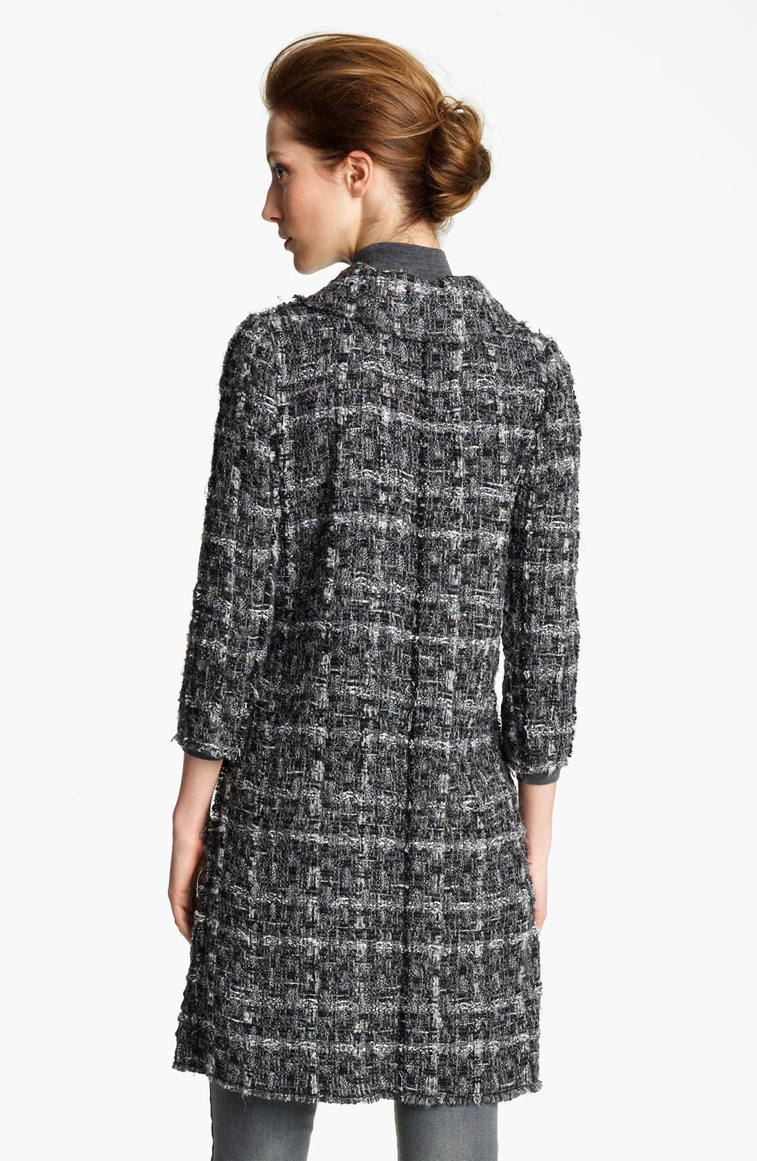 Alternate Image 3  - Dolce&Gabbana Metallic Button Tweed Coat