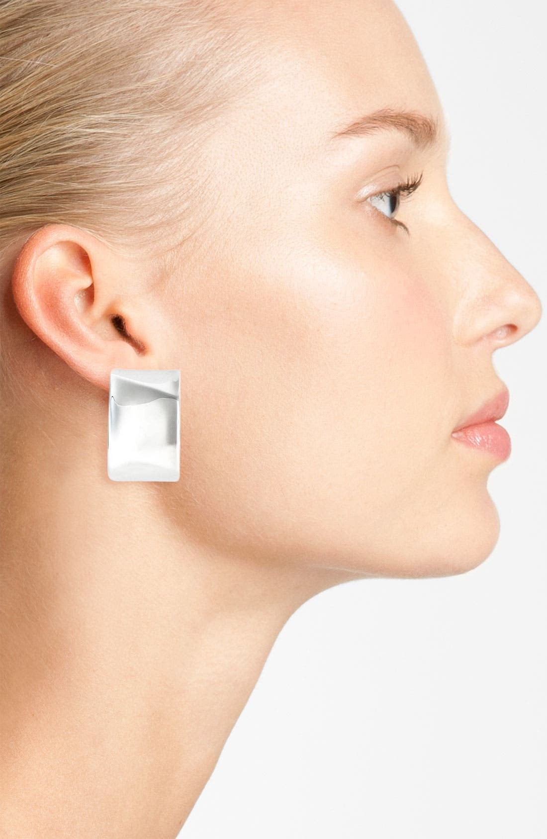 Alternate Image 2  - Simon Sebbag Rectangular Button Earrings (Nordstrom Exclusive)