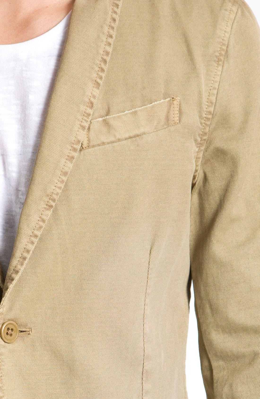 Alternate Image 3  - DIESEL® 'Jelevand' Cotton Twill Blazer