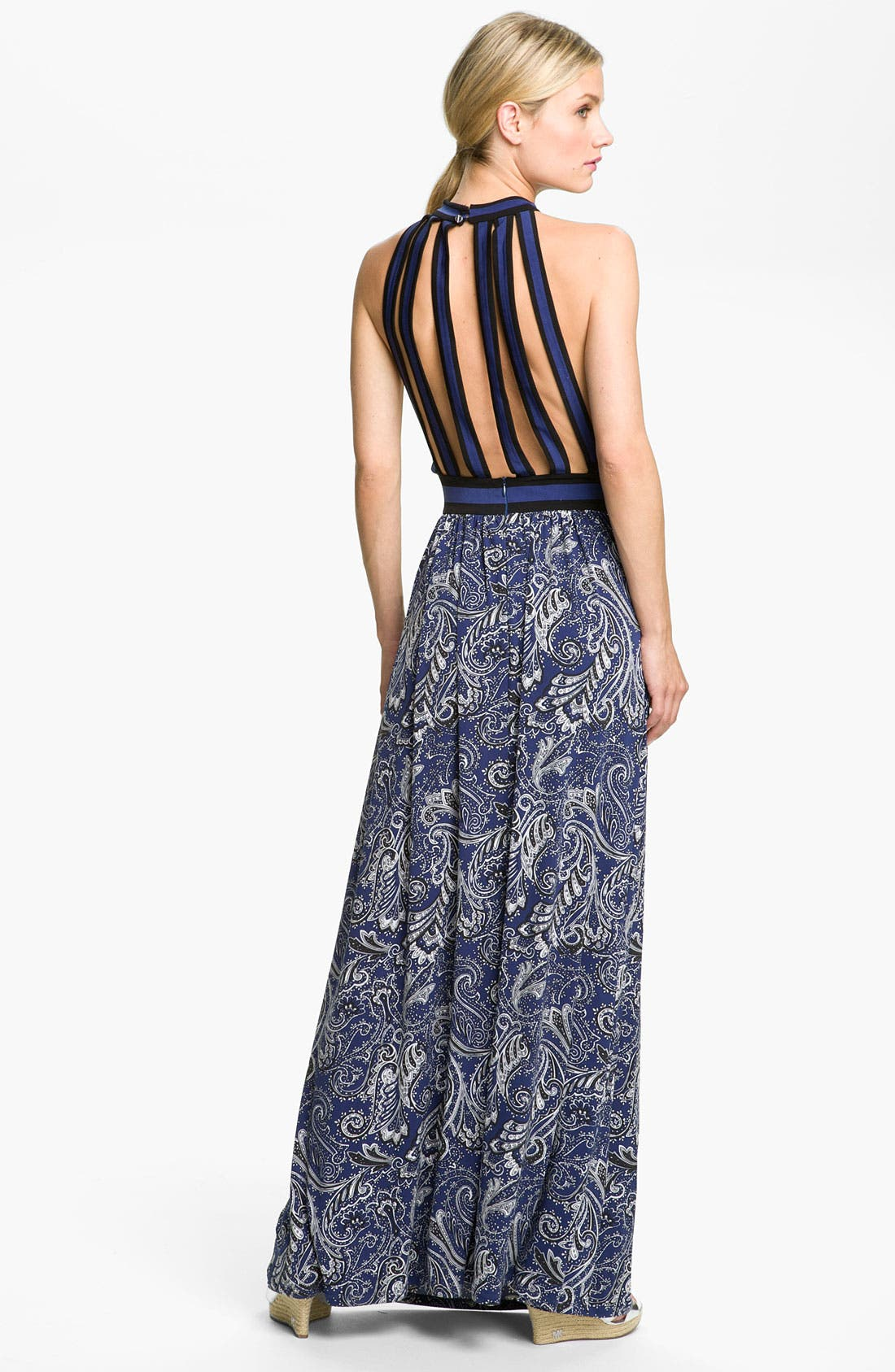 Alternate Image 2  - MICHAEL Michael Kors Strap Back Maxi Dress