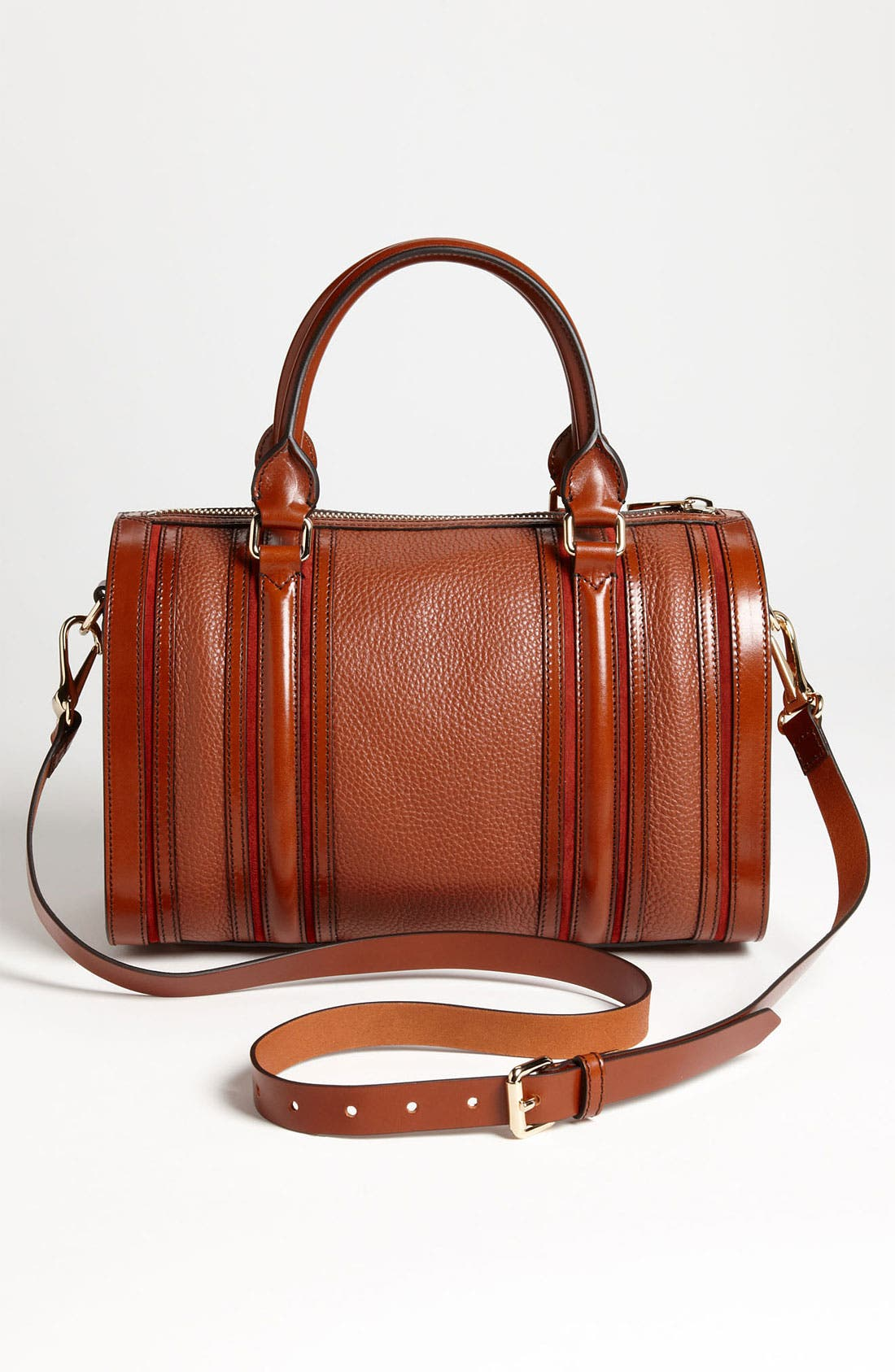 Alternate Image 4  - Burberry Leather Satchel