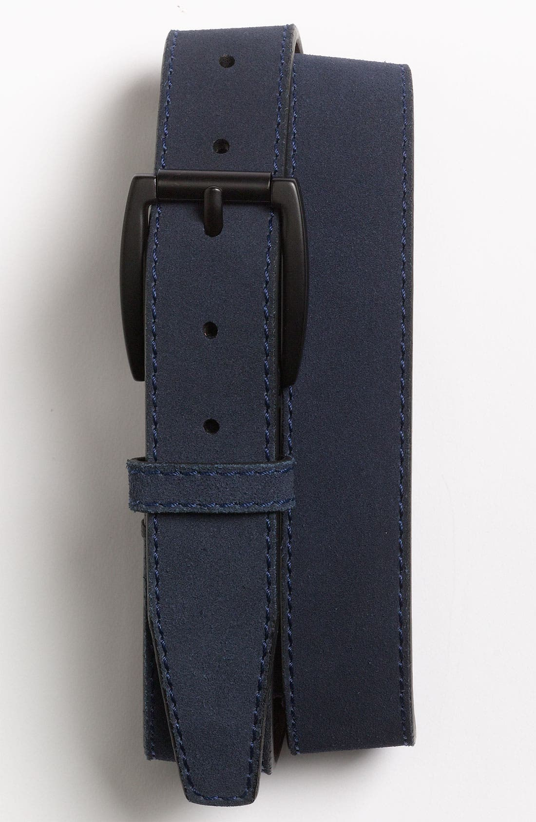 Main Image - Will Leather Goods 'Marlow' Suede Belt