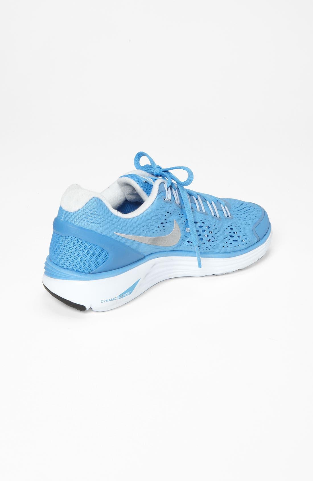 Alternate Image 2  - Nike 'LunarGlide+ 4' Running Shoe (Women)