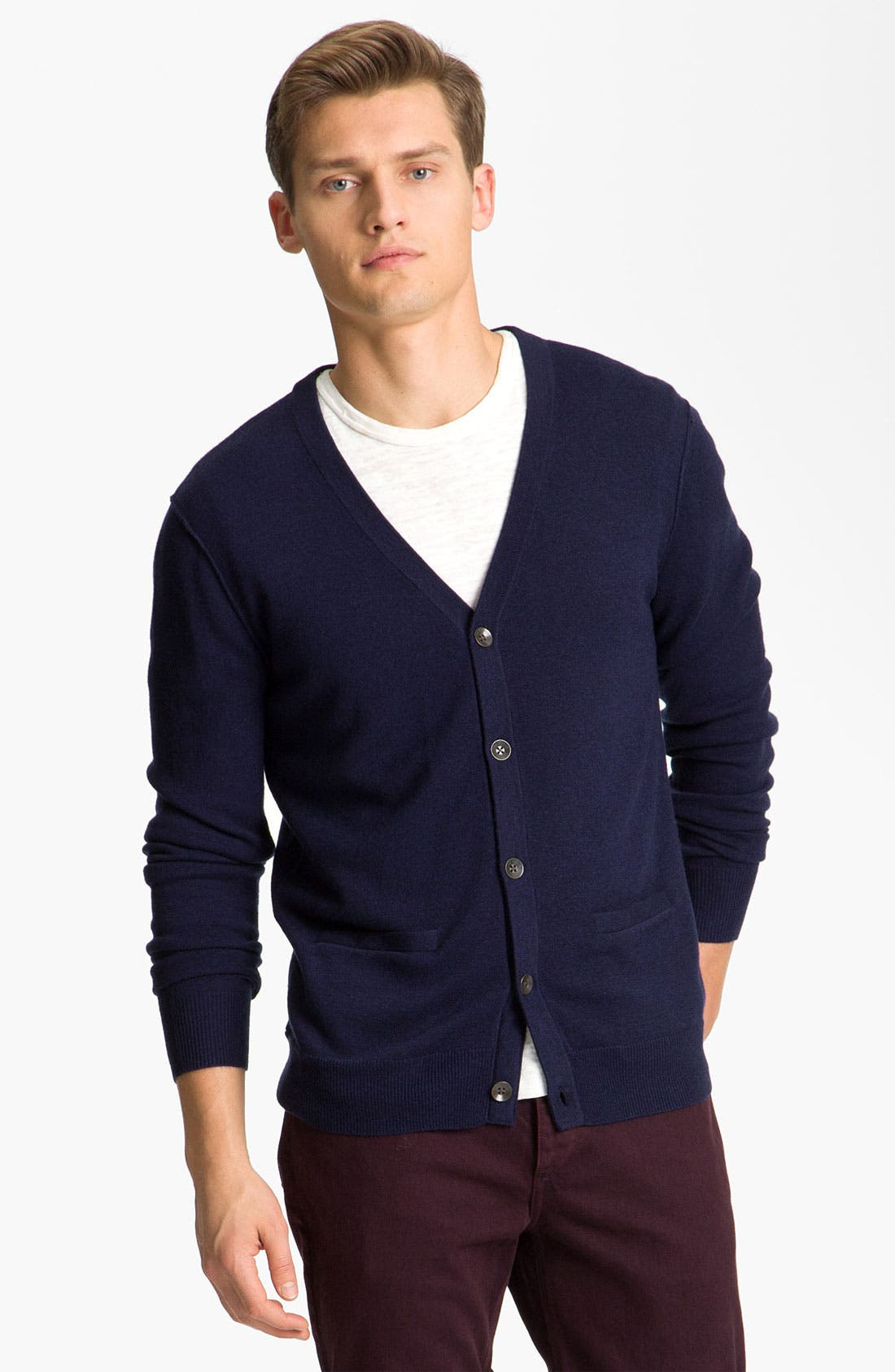 Main Image - rag & bone 'Abingdon' Wool Cardigan