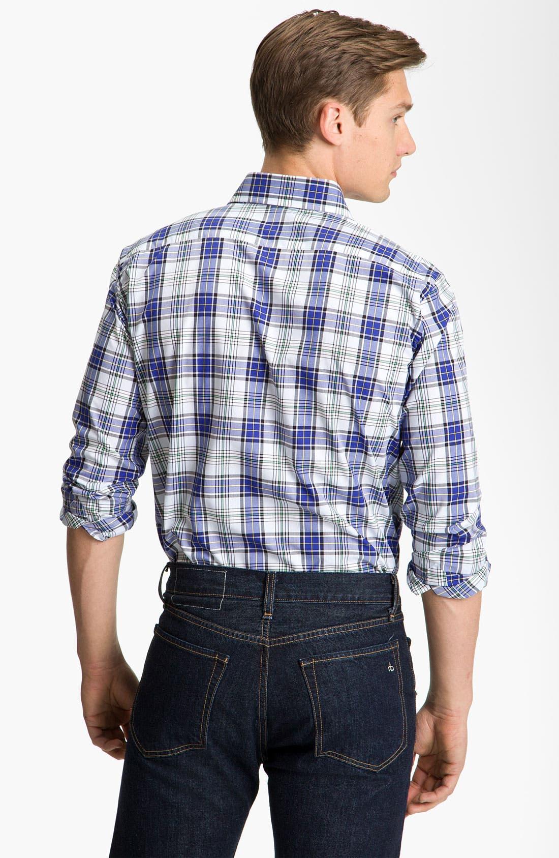 Alternate Image 2  - Etro Check Plaid Shirt