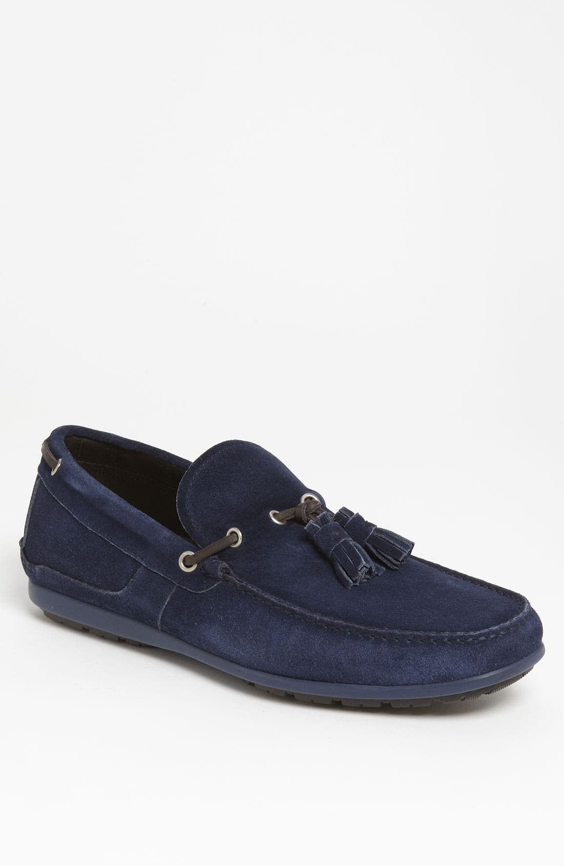 Alternate Image 1 Selected - Salvatore Ferragamo 'Amos 3' Tassel Driving Shoe