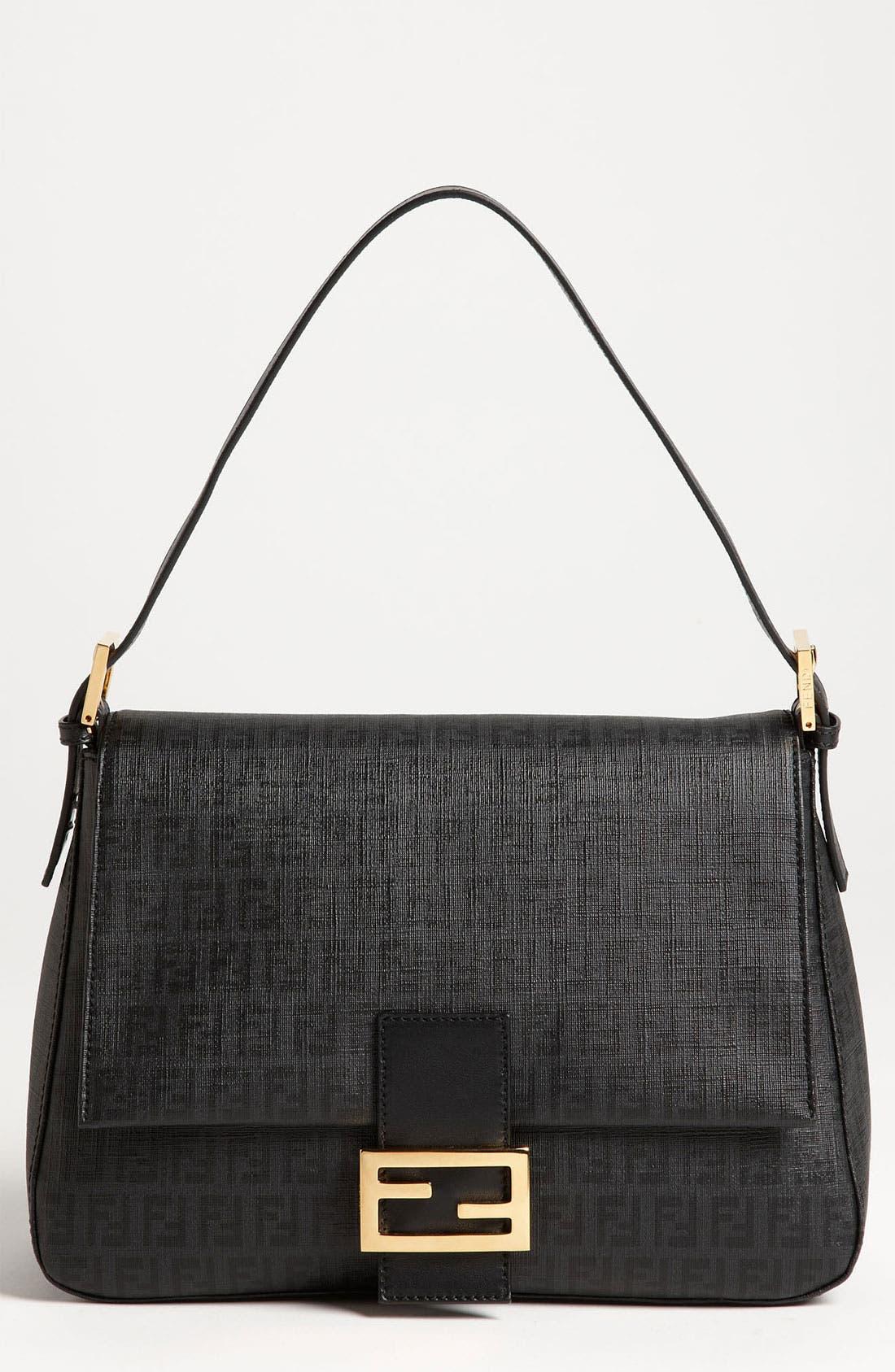 Main Image - Fendi 'Forever Big Mamma' Fabric Shoulder Bag