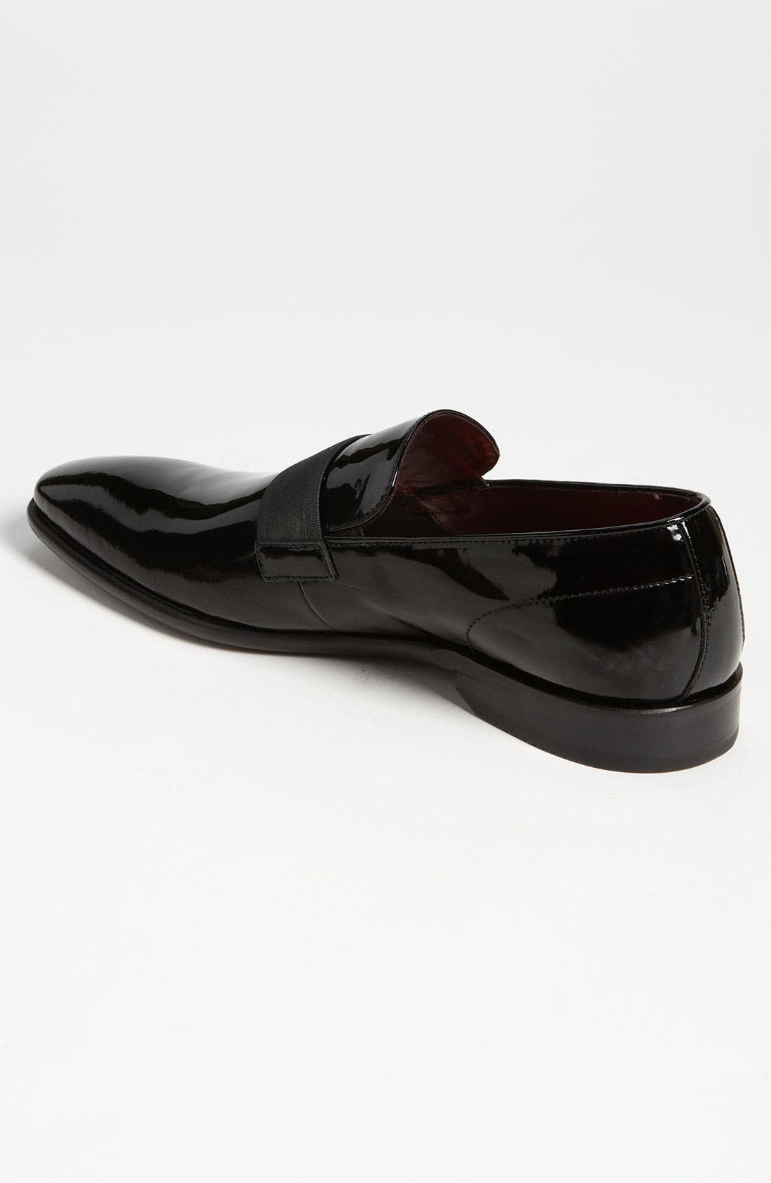 Alternate Image 2  - BOSS 'Mellion' Patent Loafer (Men)