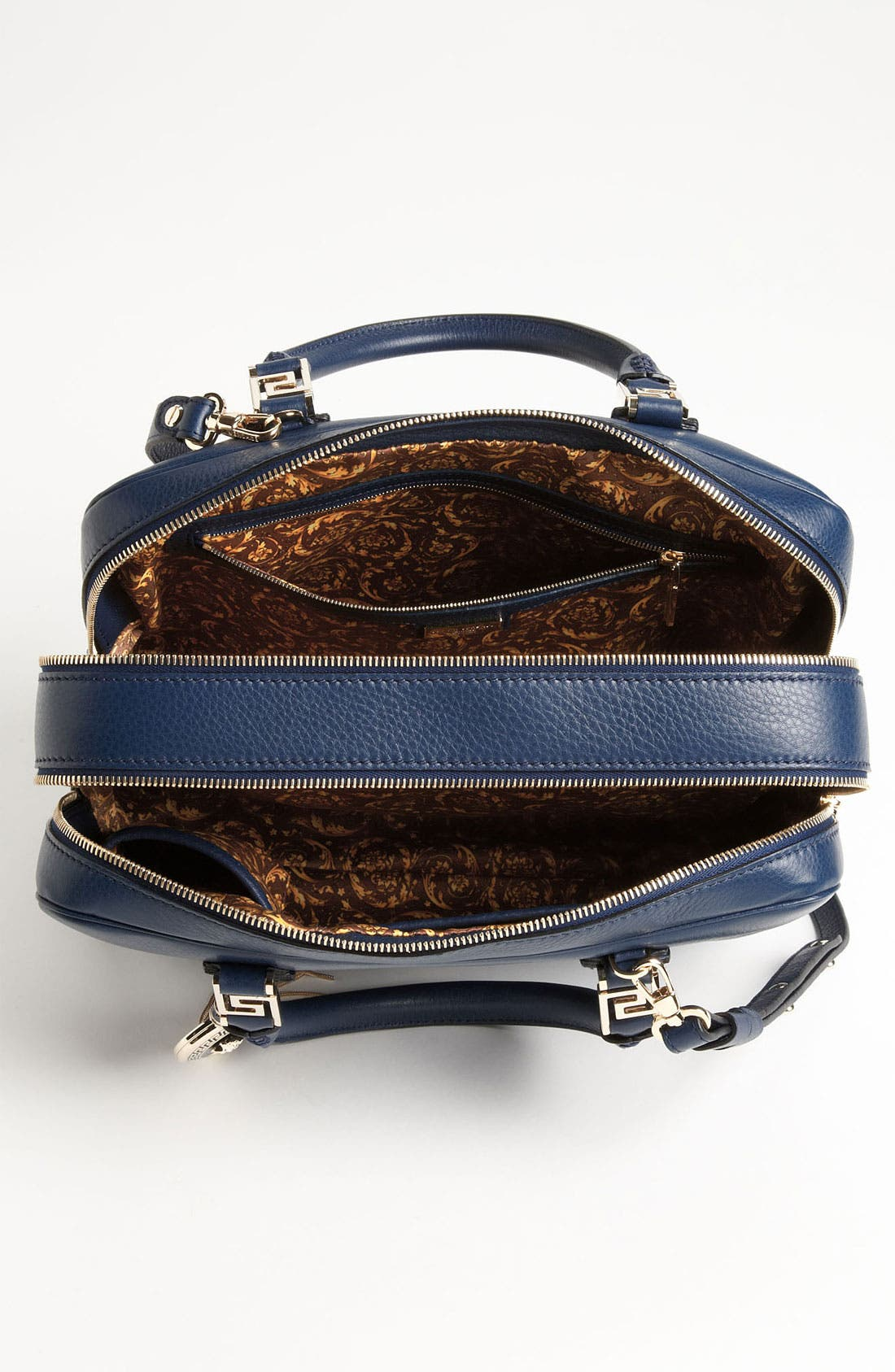 Alternate Image 3  - Versace Structured Leather Satchel