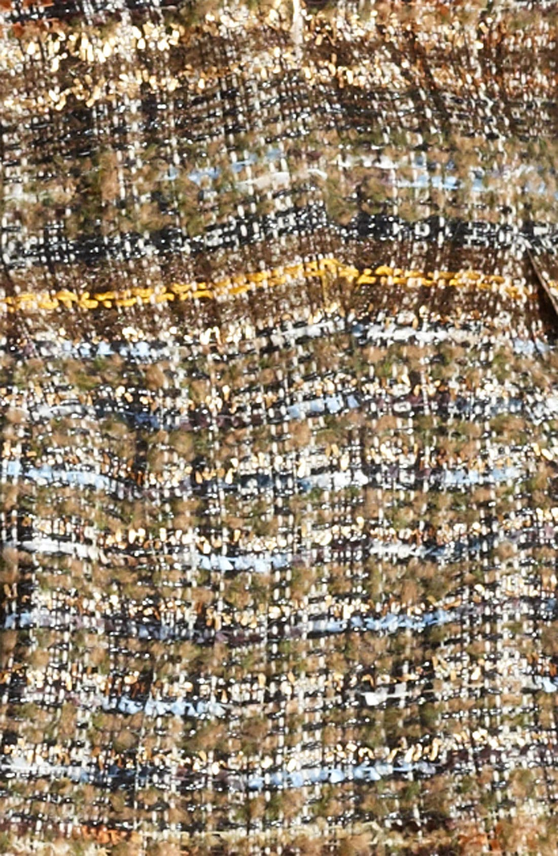 Alternate Image 3  - Blumarine Tweed Coat with Removable Faux Fur Hem