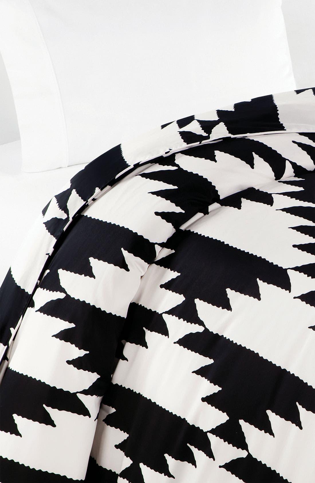 Alternate Image 1 Selected - Diane von Furstenberg 'Native Hound' 300 Thread Count Duvet Cover