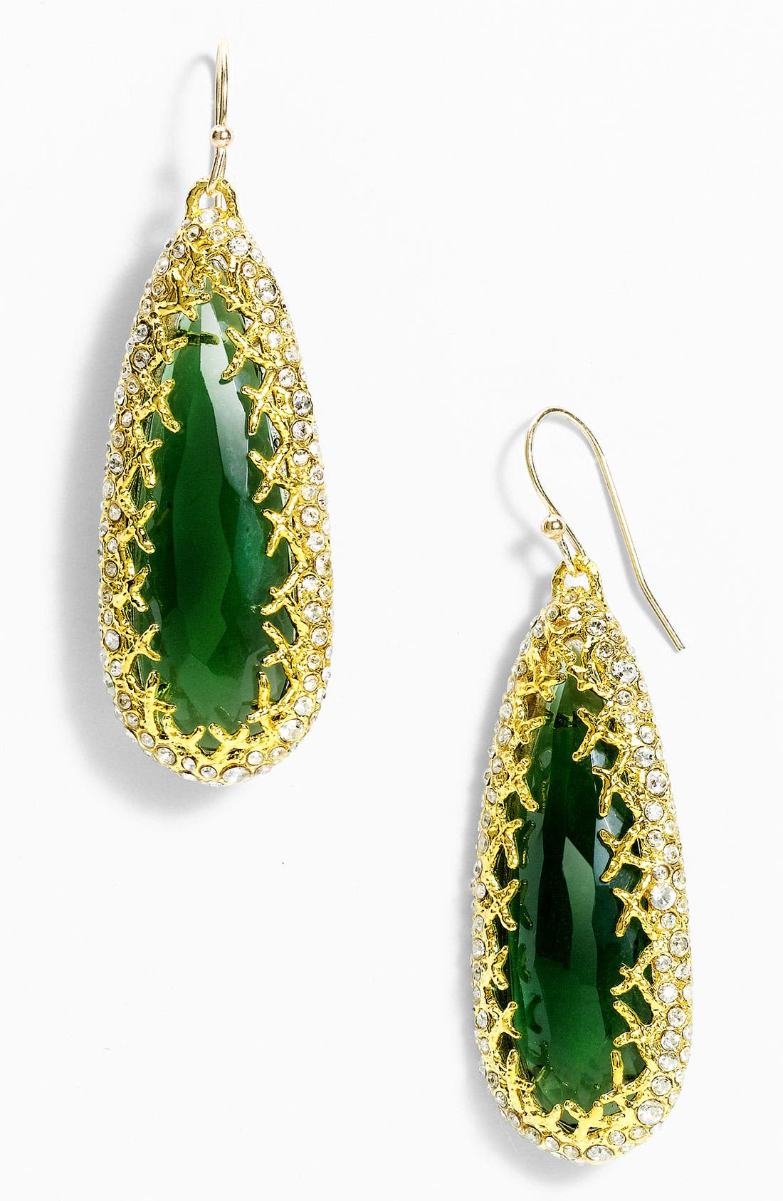 Main Image - Alexis Bittar 'Elements' Crown Set Teardrop Earrings (Nordstrom Exclusive)