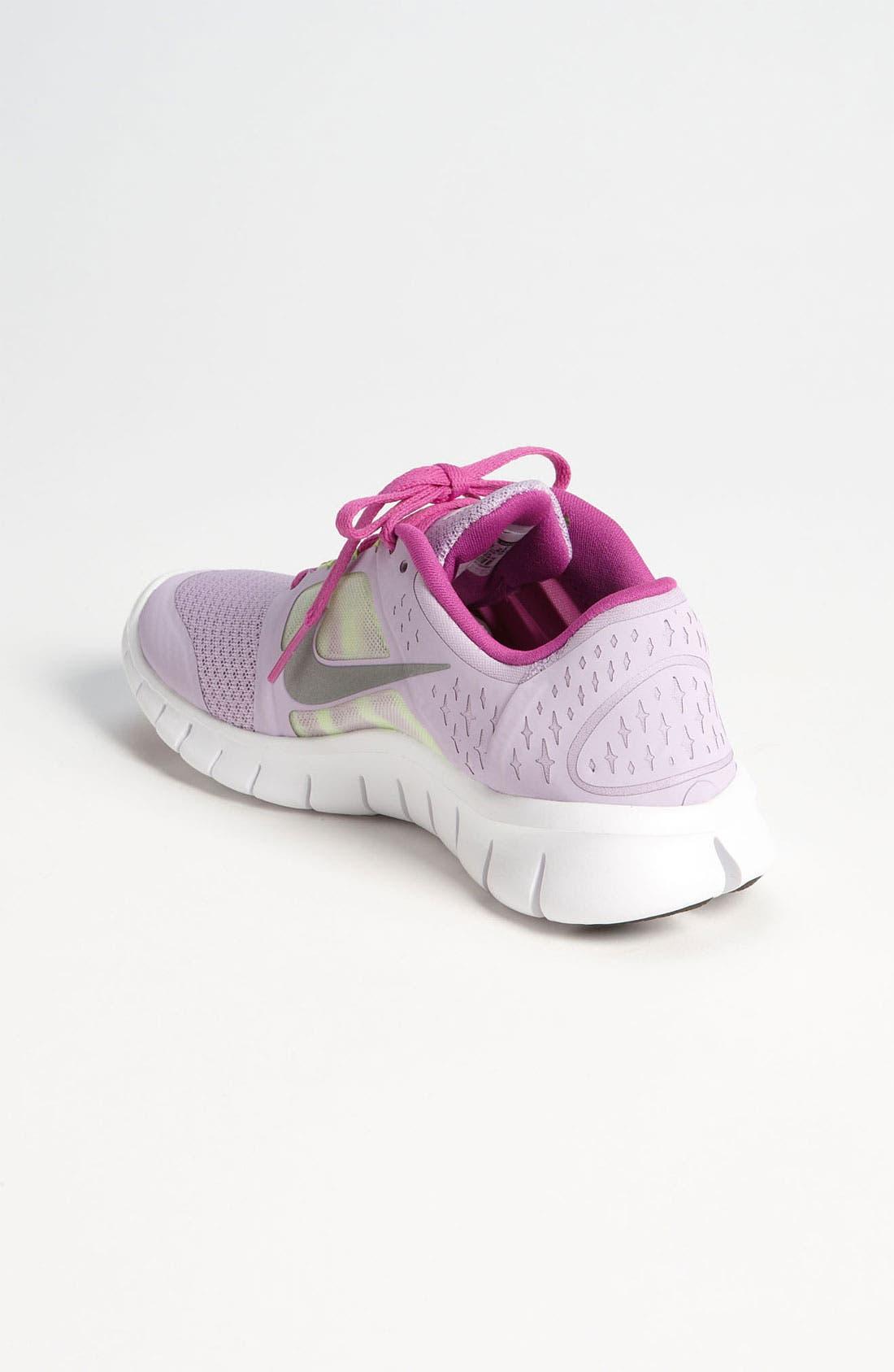 Alternate Image 2  - Nike 'Free Run 3.0' Running Shoe (Big Kid)