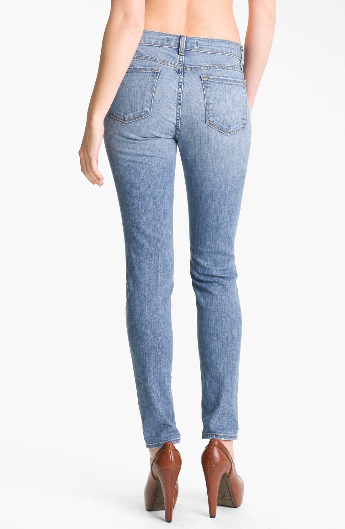 Alternate Image 2  - J Brand Skinny Stretch Jeans (Tulum)