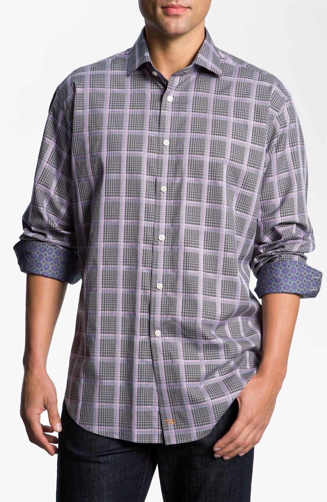 Alternate Image 1 Selected - Thomas Dean Check Sport Shirt