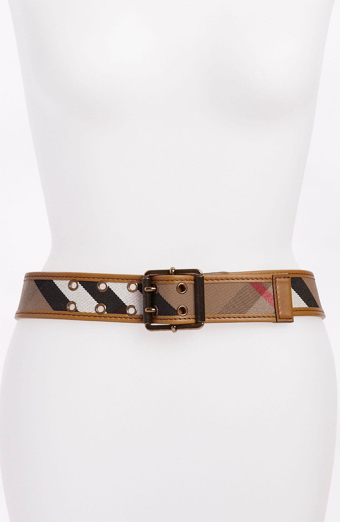 Main Image - Burberry Check Belt