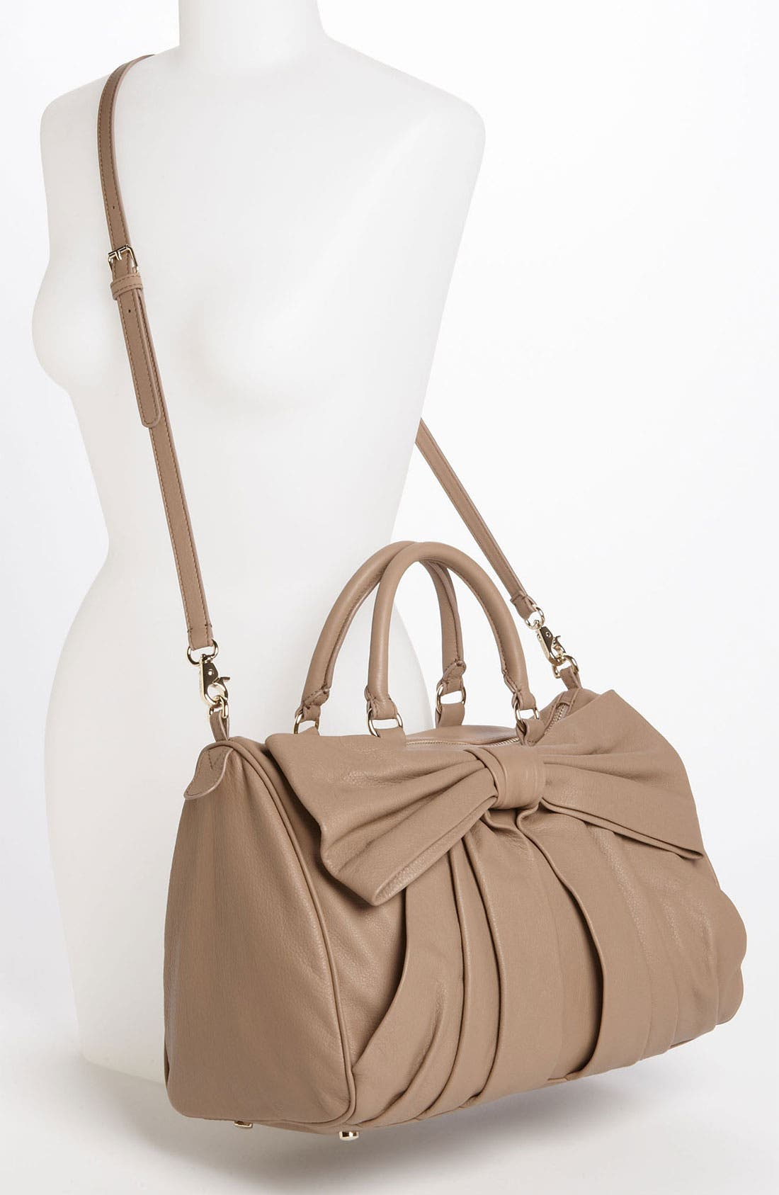 Alternate Image 2  - RED Valentino 'Bow' Leather Bowler Bag