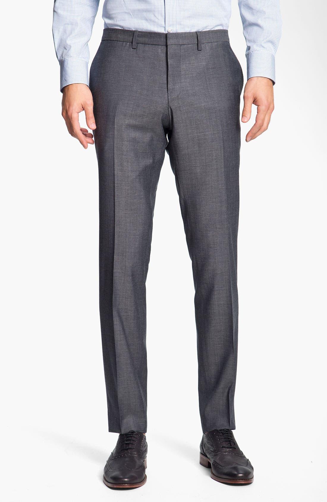 Alternate Image 4  - BOSS Black 'Ryan/Win' Extra Trim Fit Suit