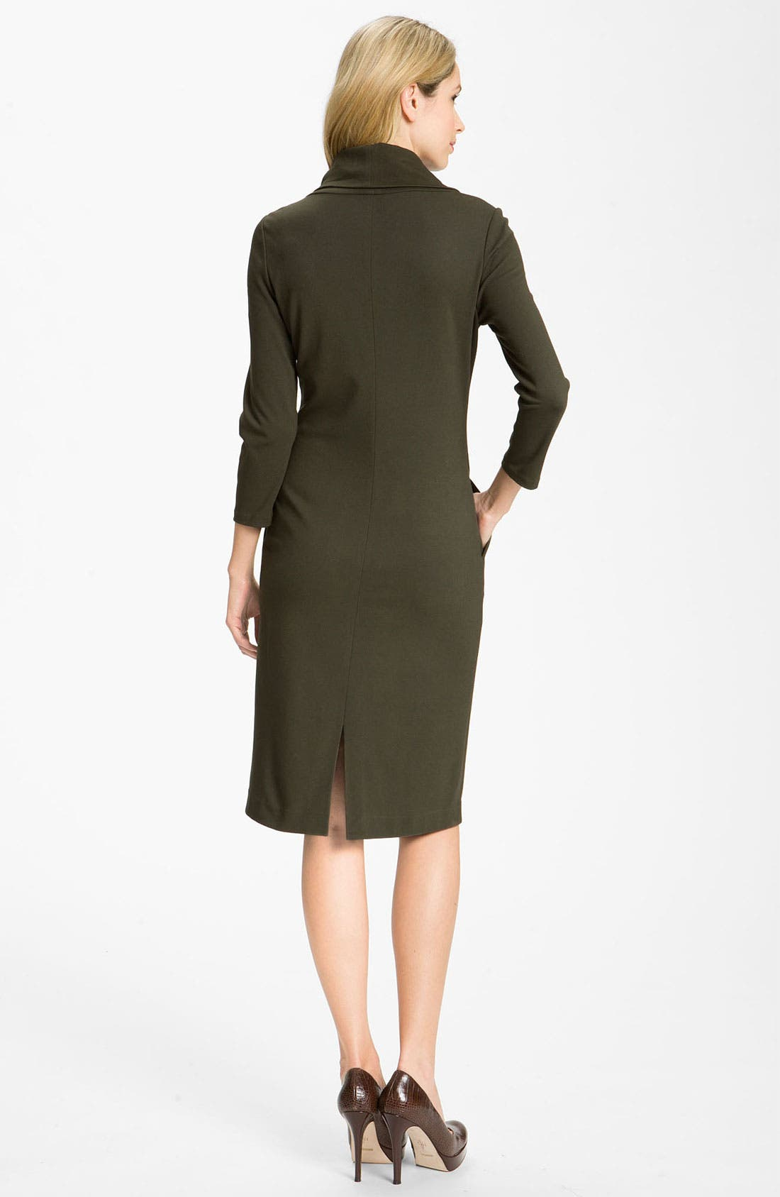 Alternate Image 2  - Lafayette 148 New York 'Milano' Cowl Neck Dress