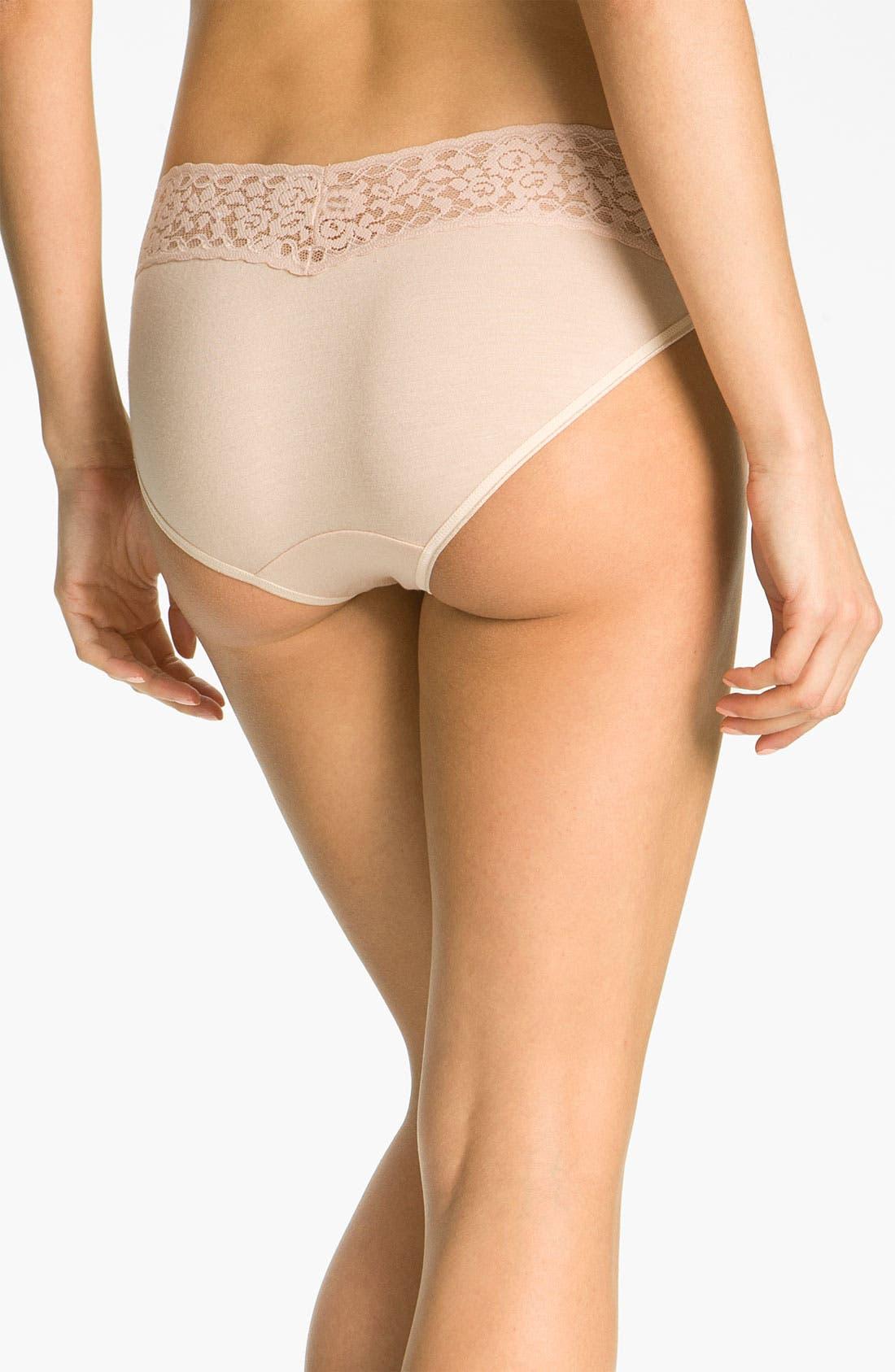 Alternate Image 2  - Hanky Panky 'Logo To Go' Bikini