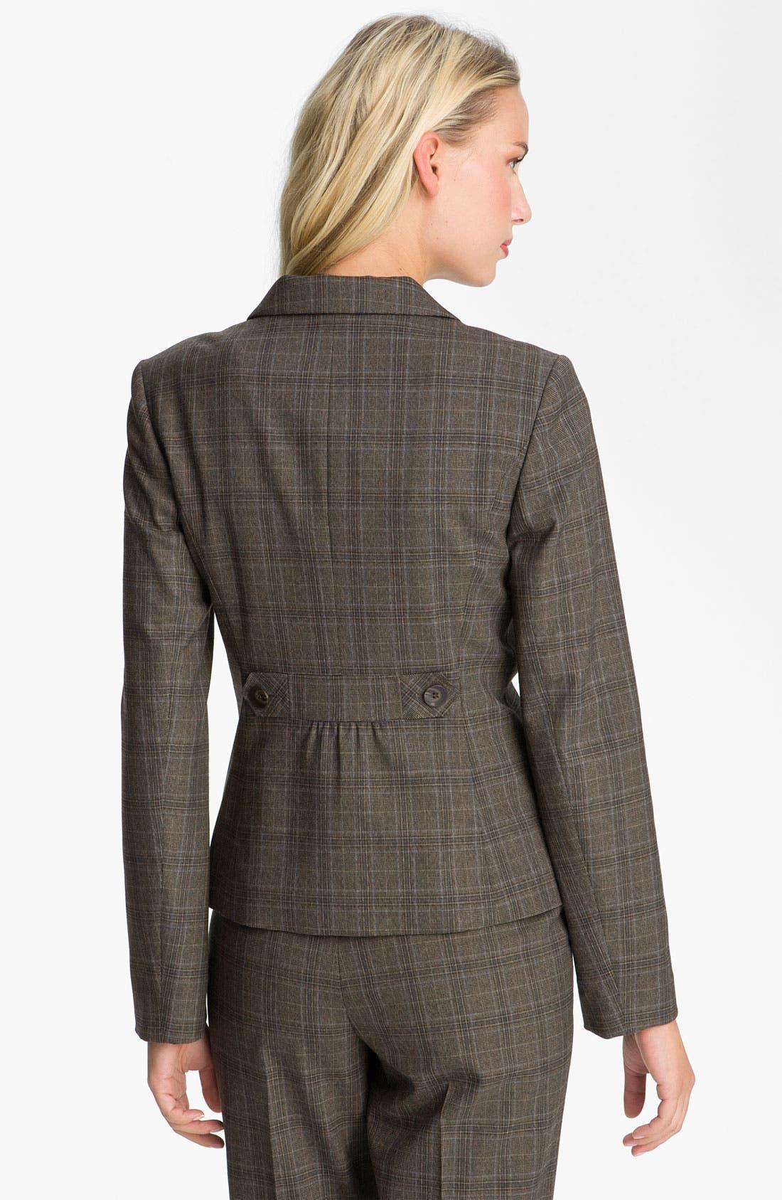 Alternate Image 2  - Halogen® Plaid Jacket