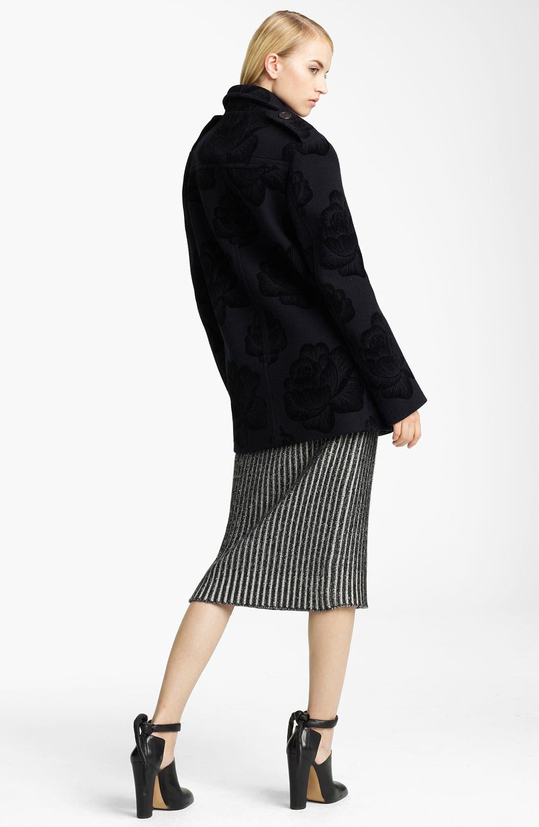 Alternate Image 4  - Christopher Kane Ribbed Cashmere Dress