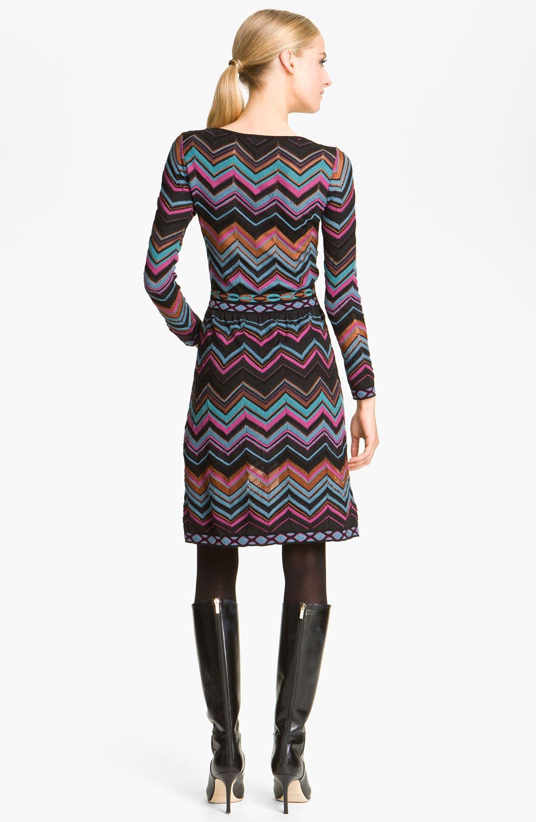 Alternate Image 2  - M Missoni Zigzag Dress