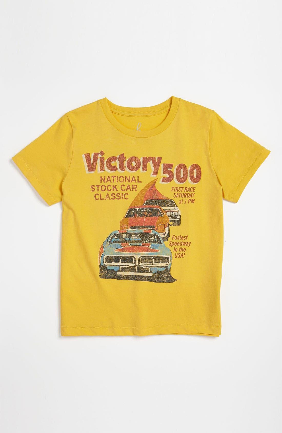 Alternate Image 1 Selected - Peek 'Victory 500' T-Shirt (Toddler, Little Boys & Big Boys)
