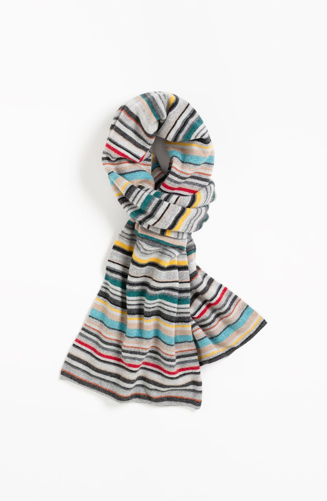 Alternate Image 1 Selected - Paul Smith Accessories Stripe Knit Scarf