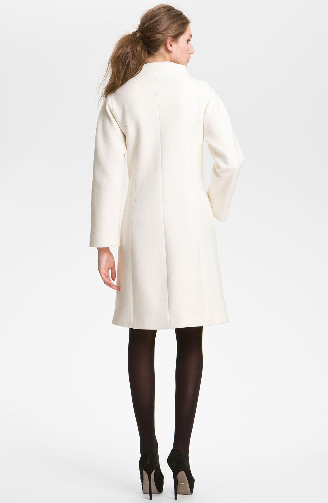 Alternate Image 2  - Milly 'Claudine' Seamed Coat