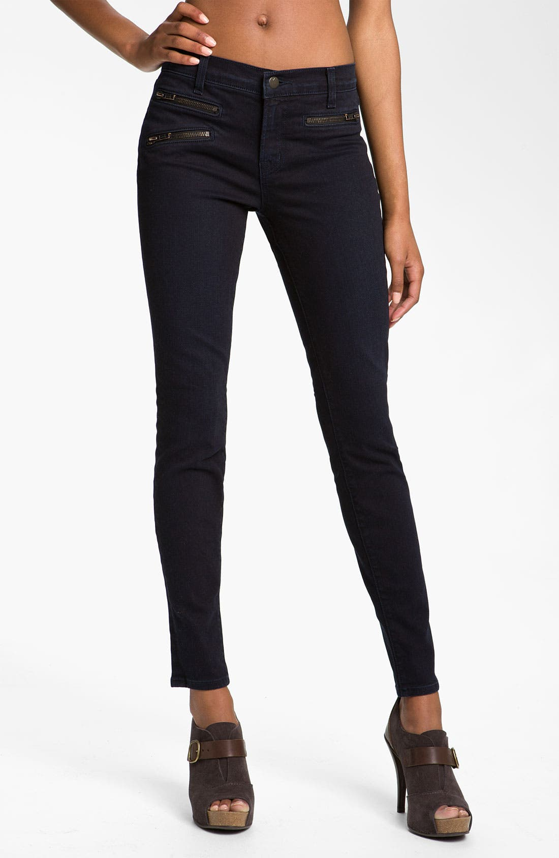 Alternate Image 1 Selected - J Brand 'Zoey' Skinny Jeans (York)