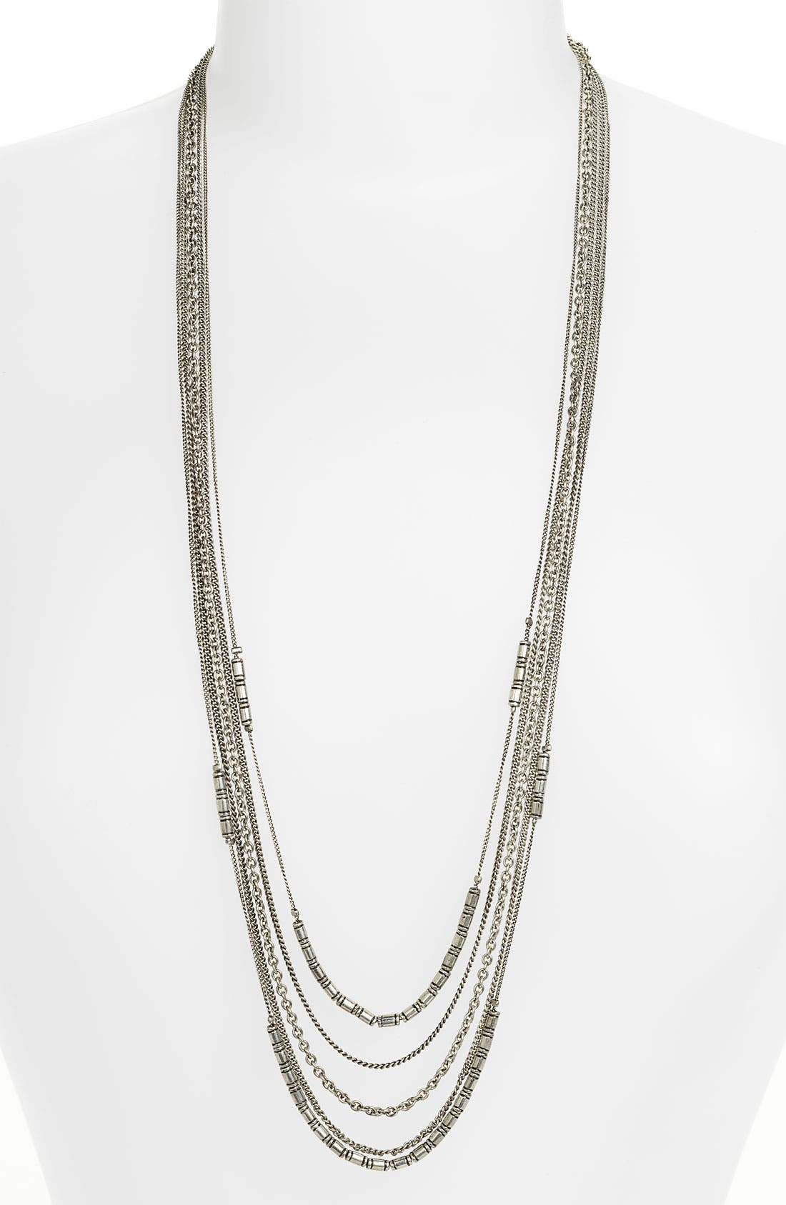 Alternate Image 1 Selected - Carole Layered Multi Chain Necklace