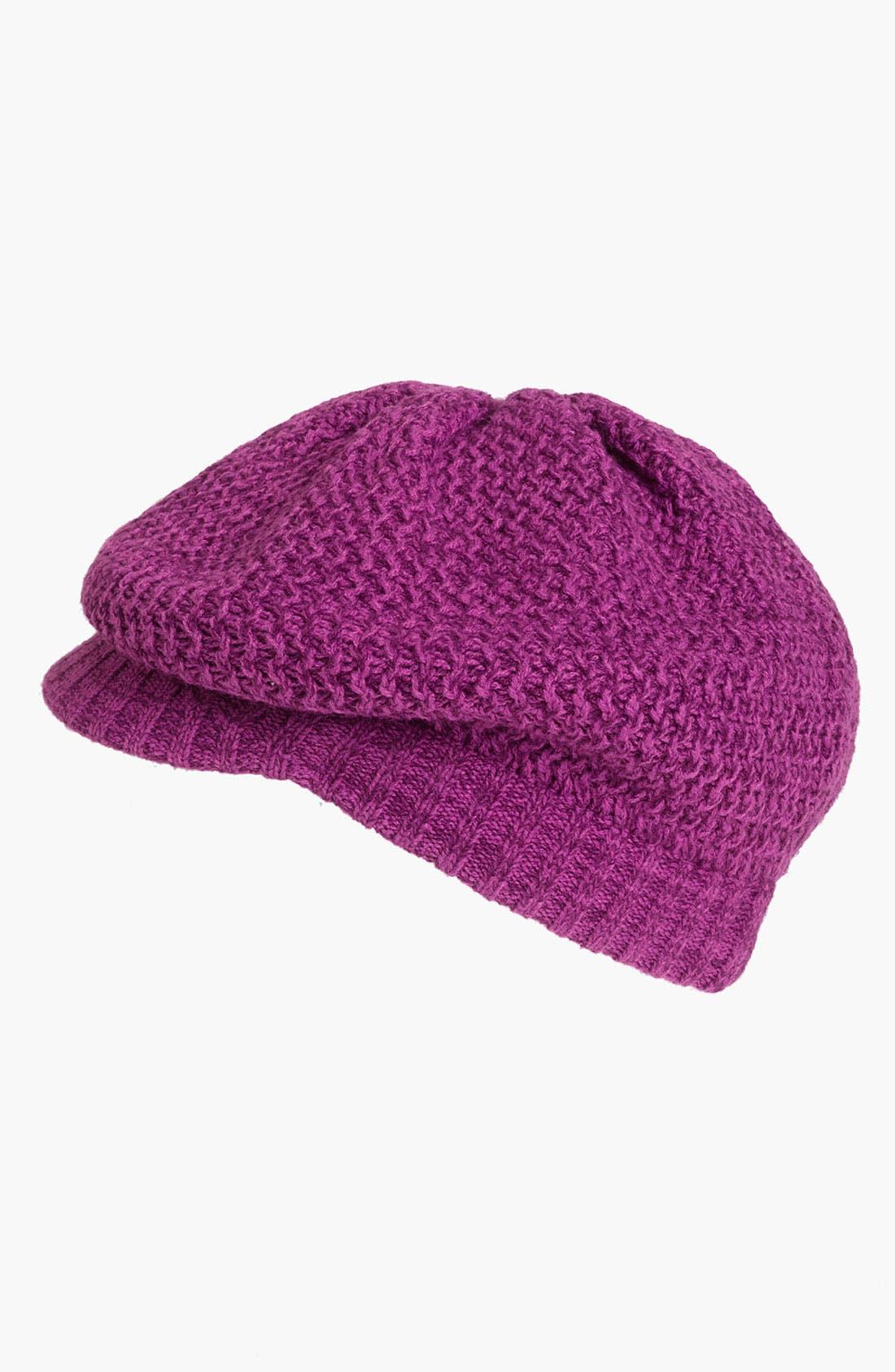 Alternate Image 1 Selected - Echo Marled Stitch Newsboy Hat