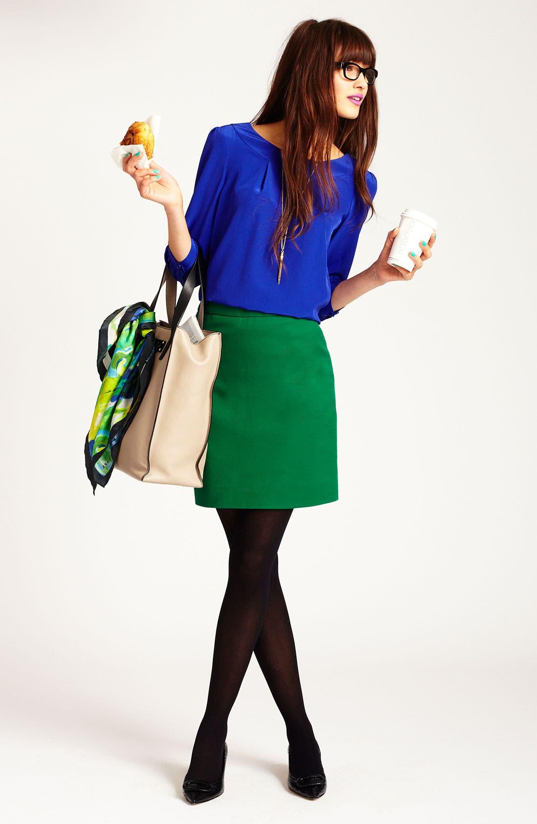 Alternate Image 3  - kate spade new york 'bridgette' blouse