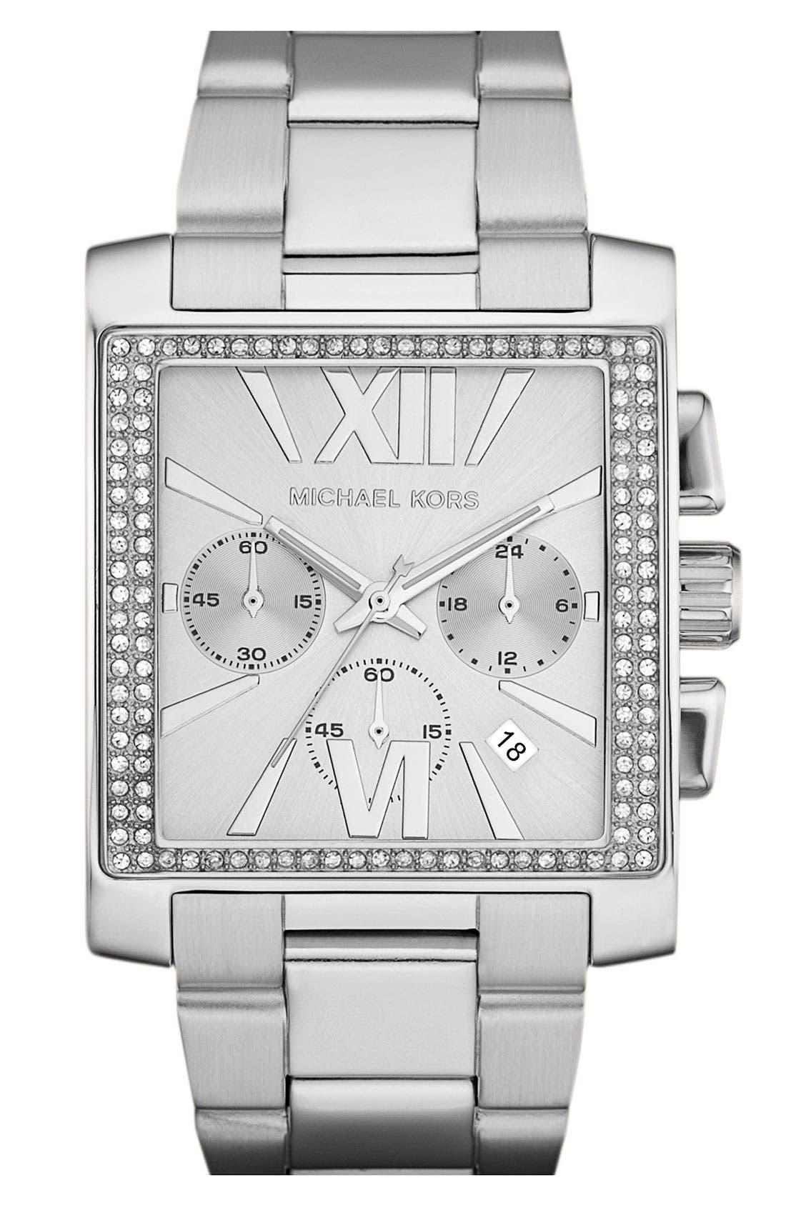 Alternate Image 1 Selected - Michael Kors 'Gia' Chronograph Bracelet Watch