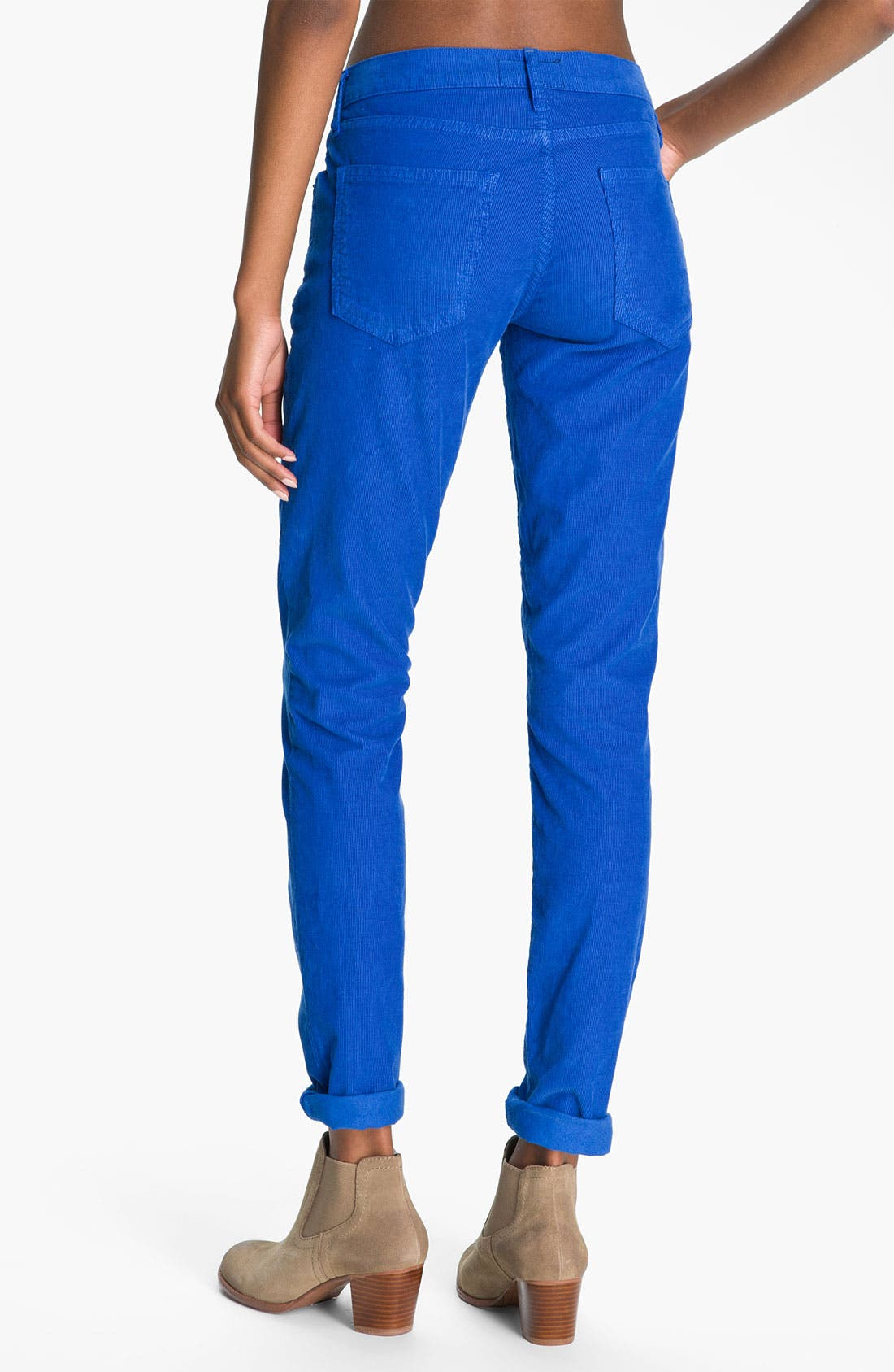 Alternate Image 2  - Current/Elliott 'The Skinny' Stretch Corduroy Pants