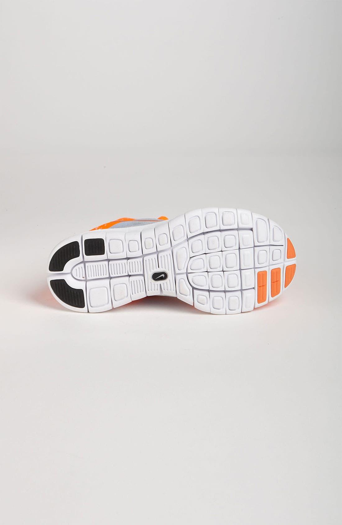 Alternate Image 4  - Nike 'Free Run 3' Running Shoe (Big Kid)