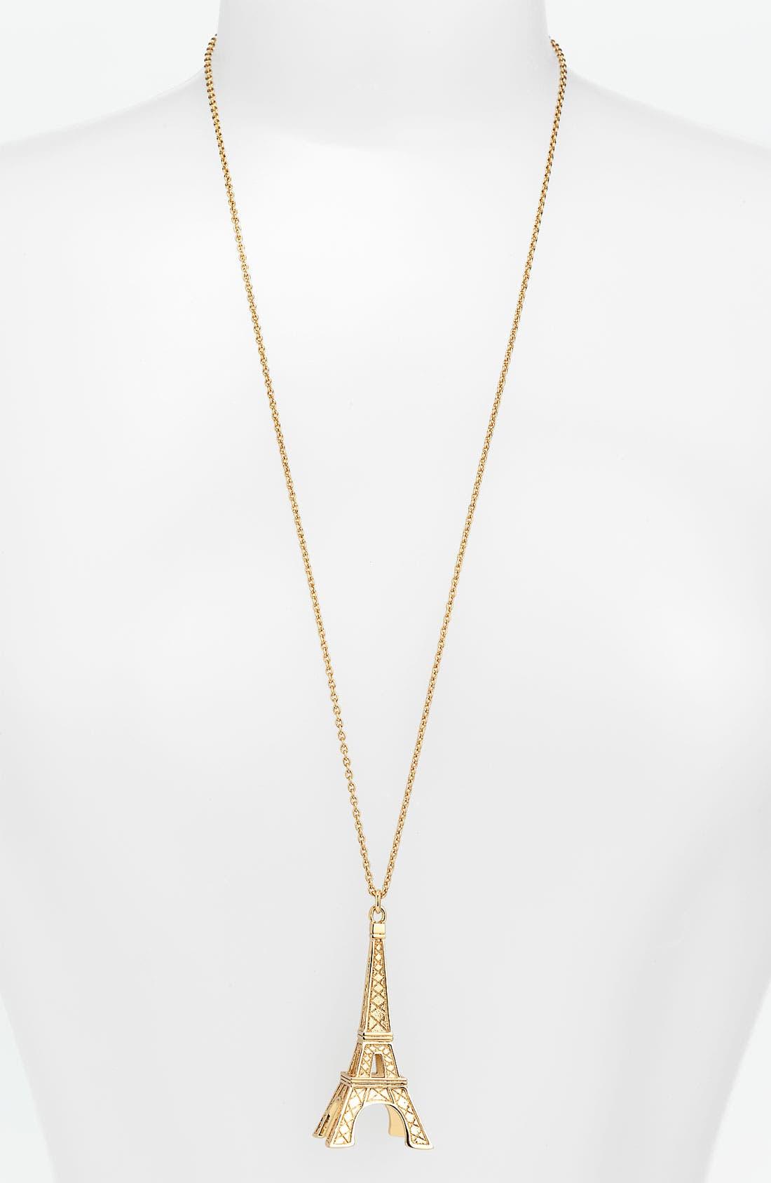Main Image - kate spade new york 'parisian lights' long pendant necklace