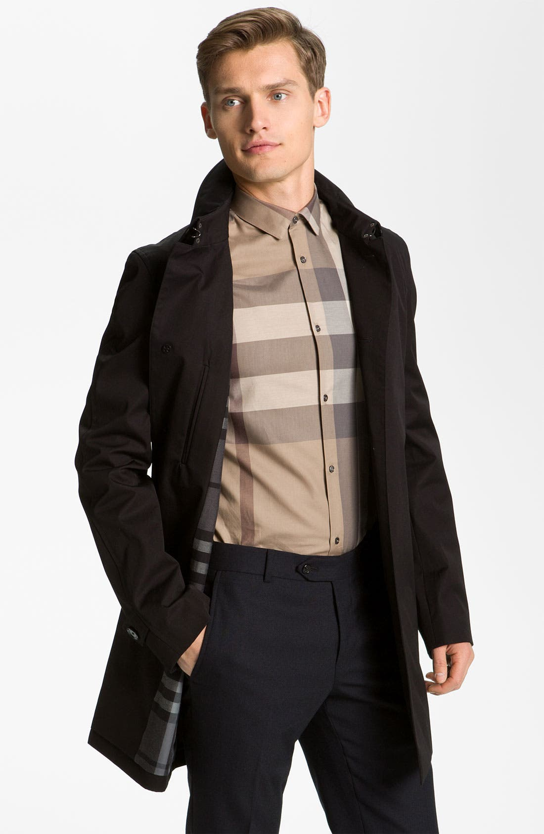 Alternate Image 1 Selected - Burberry London Cotton Jacket