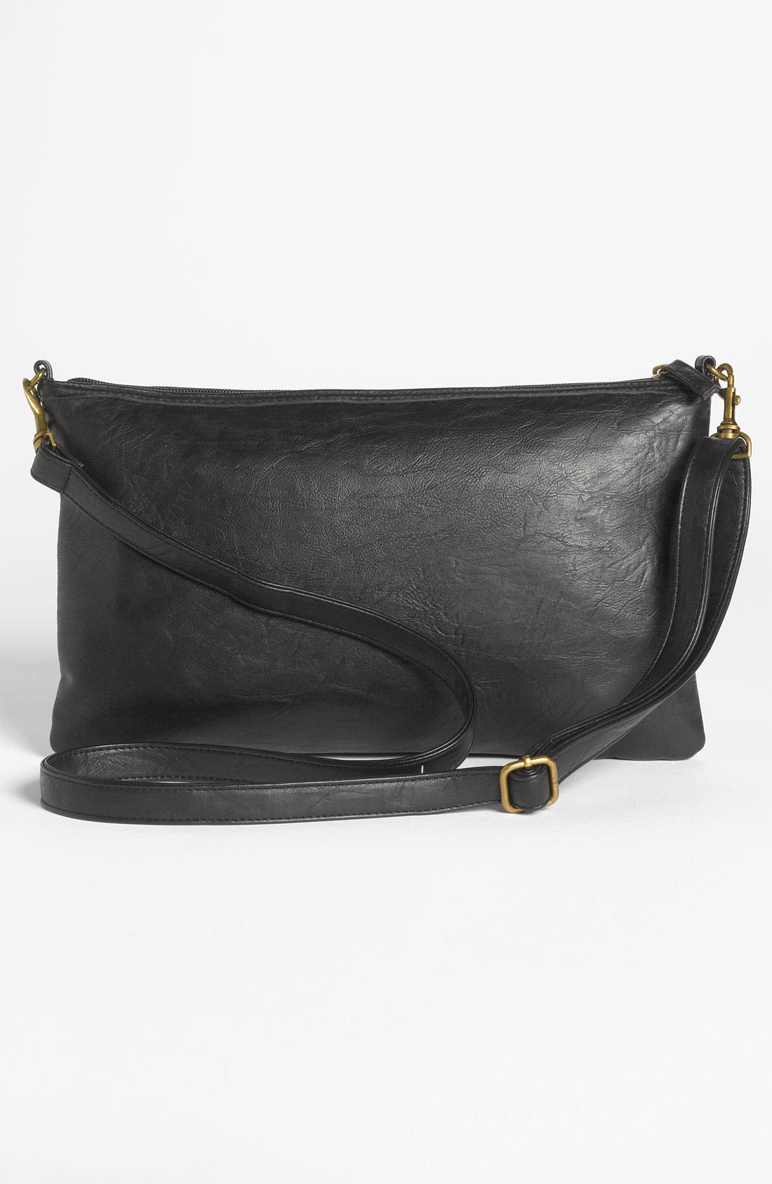 Alternate Image 4  - Lulu Studded Faux Leather Crossbody Bag